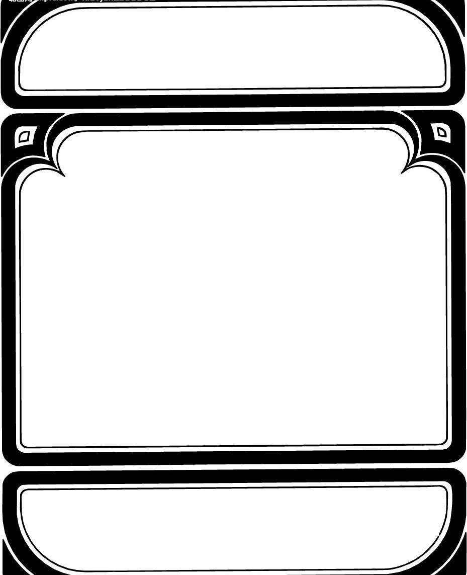 素材 边框模板下载 边框 底纹边框 边框相框 矢量图库   eps psd源