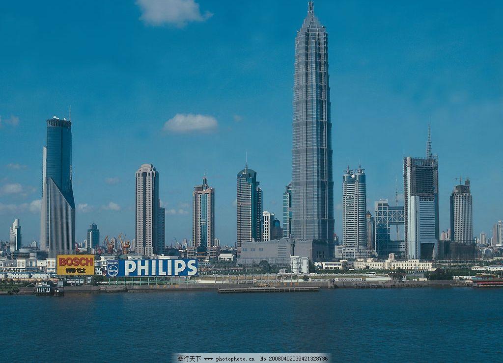 上海建筑群 上海城市 上海