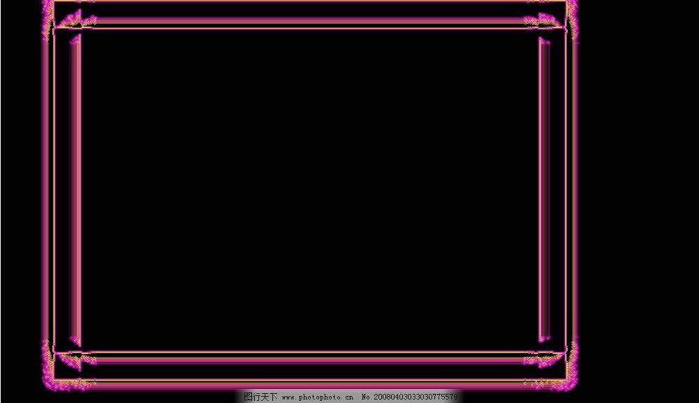 ppt 背景 背景图片 边框 模板 设计 相框 1001_577