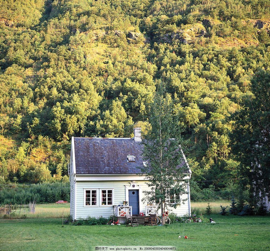 深山中的房子 德国 风景 异国风情 城市 旅游摄影 国外旅游 摄影图库