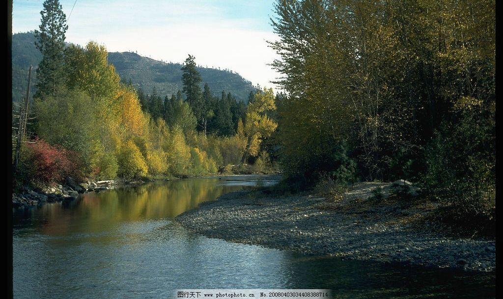 大好河山 树天云石水 风景图 自然 自然景色 自然影像摄影