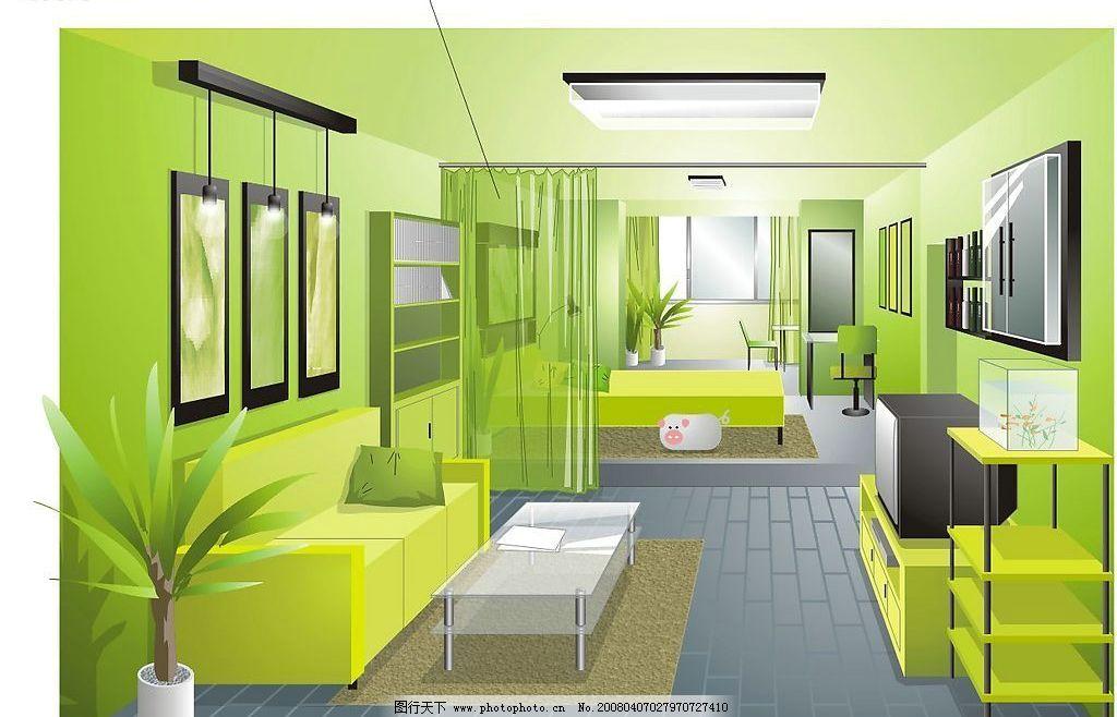 建筑家居 室内设计 矢量图库   cdr