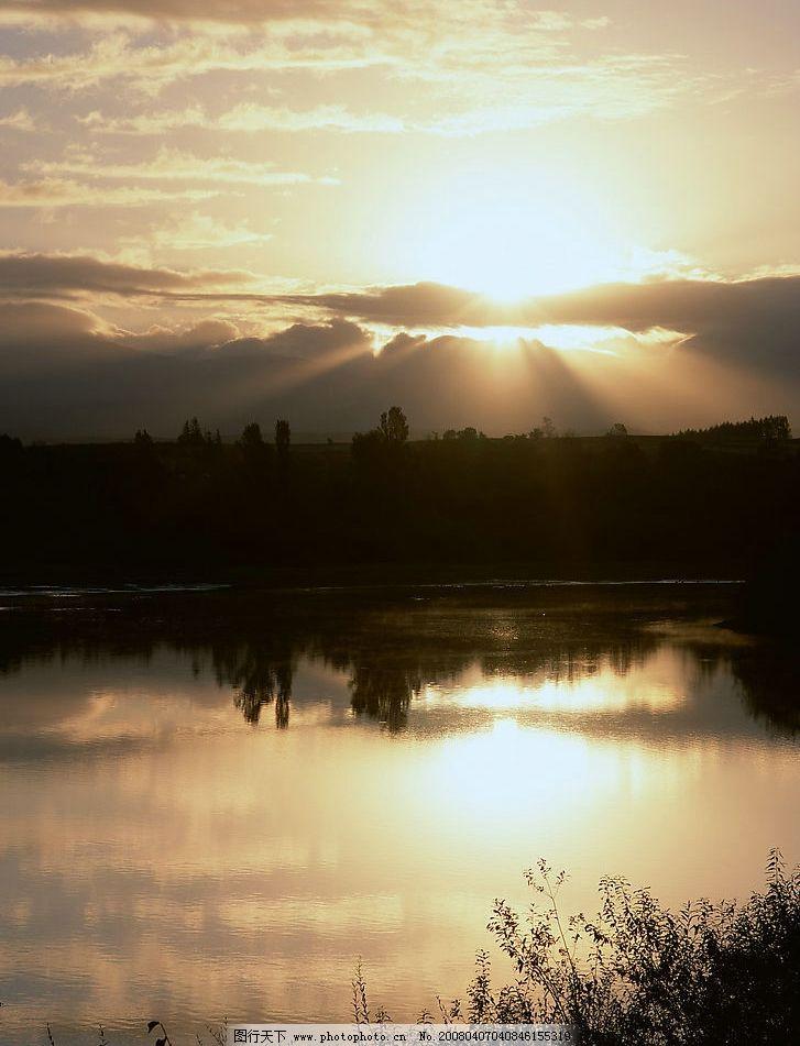 超级漂亮的夕阳风景图片