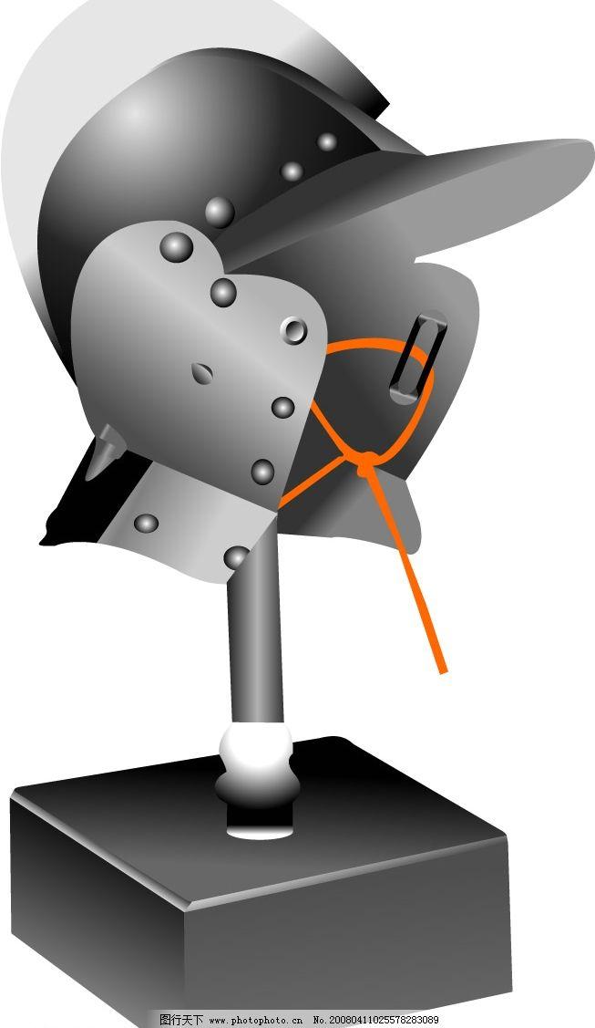 电子电路板头盔卡通