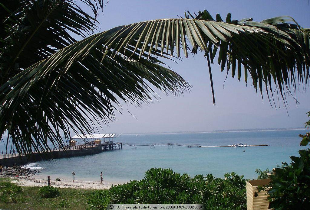 海南风光 海南 风景 椰树 蓝色的大海 海水 自然景观 自然风景 摄影