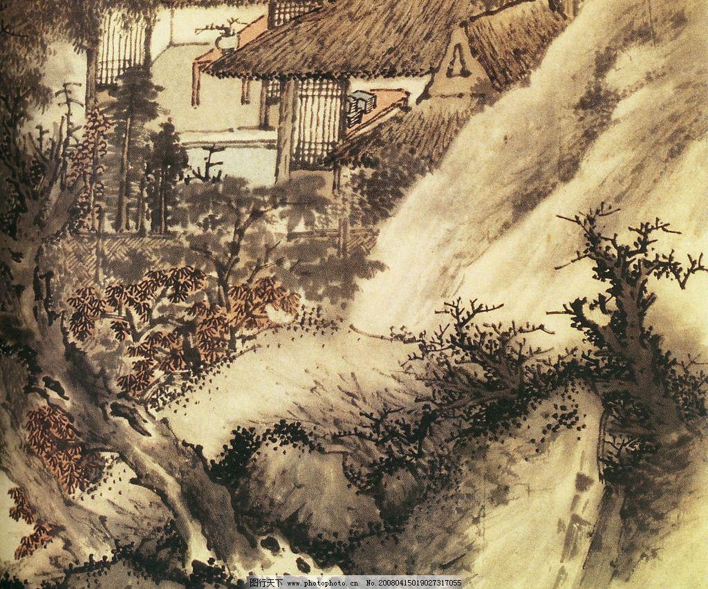 中国风景国画图片