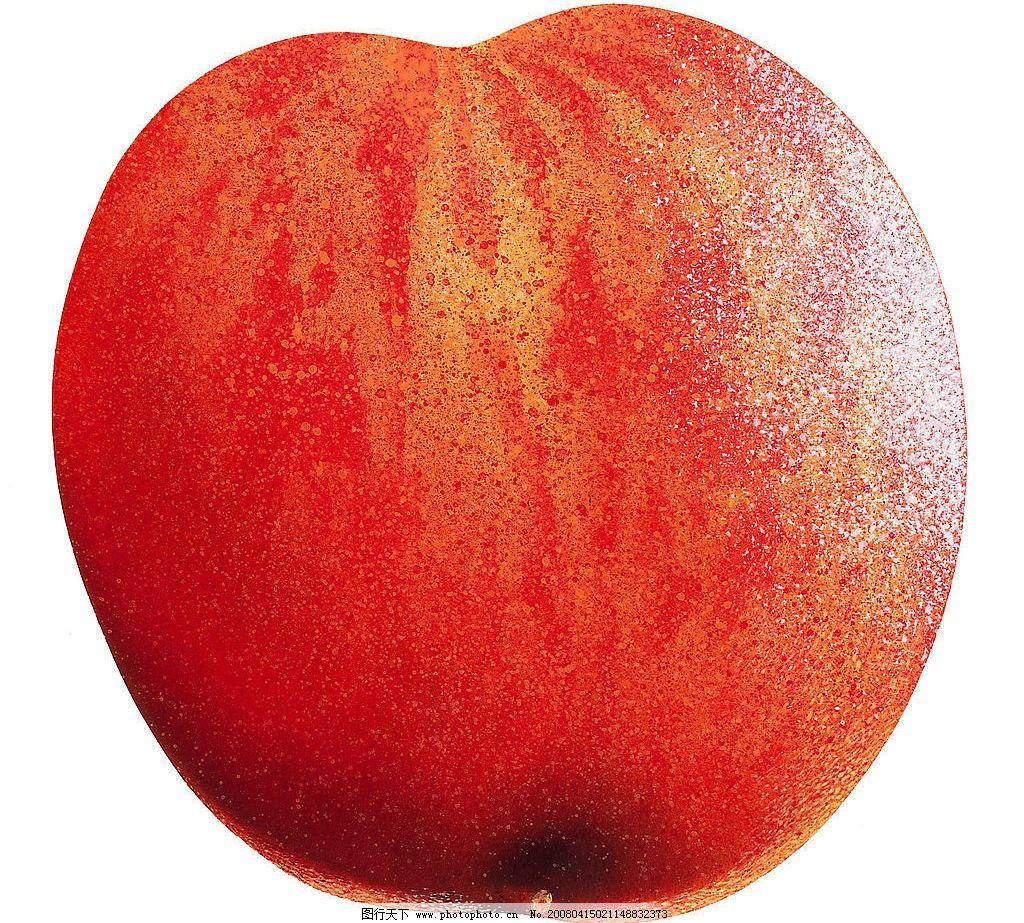 桃子 高清晰图片 水果