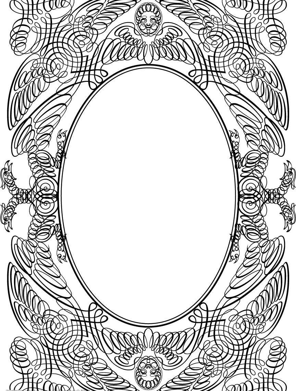 边框相框矢量素材 边框相框模板下载 边框相框 底纹边框 经典筐 矢量