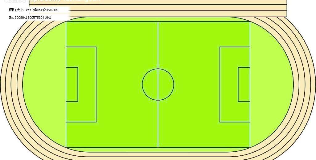 足球场图片免费下载 cdr 广告设计 球场 矢量图库 足球场 足球场矢量