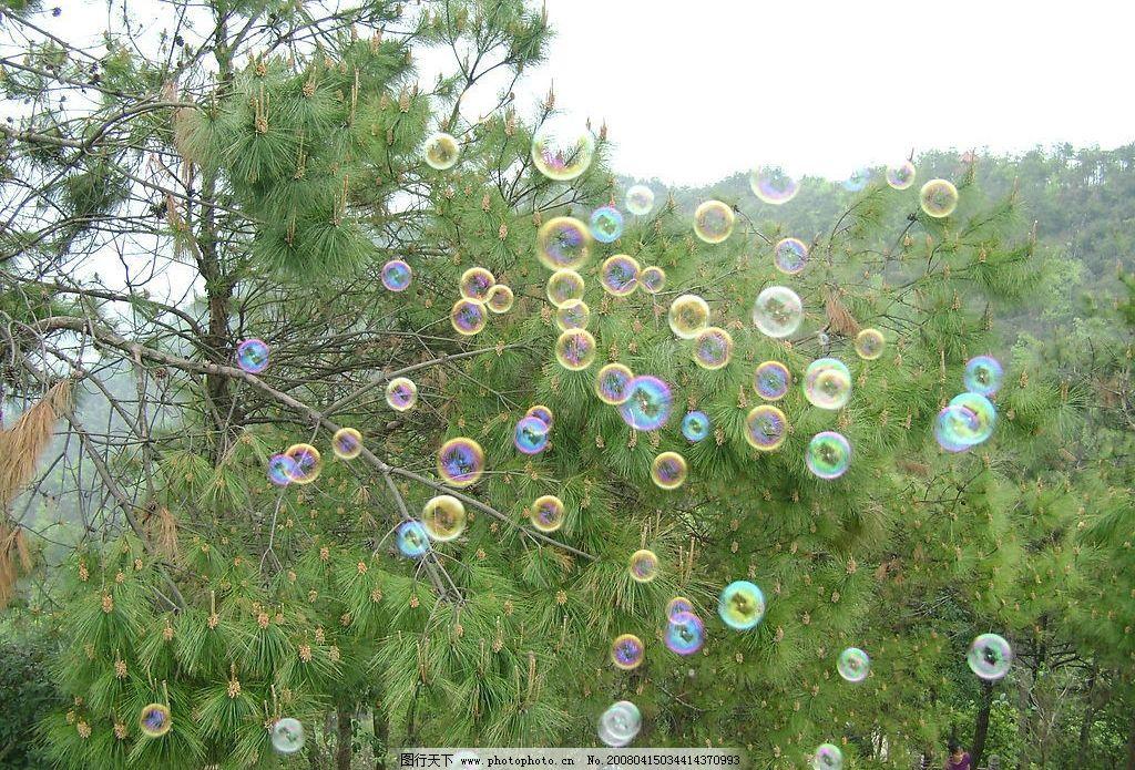 泡泡 春天 绿色 大自然 自然景观 山水风景 摄影图库 200 jpg