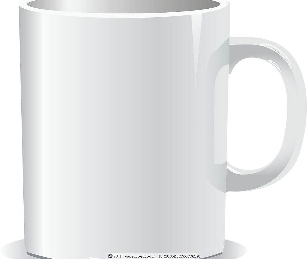 白色咖啡杯 咖啡杯 杯子 节日素材 春节 矢量(cdr ai eps wmf) 矢量