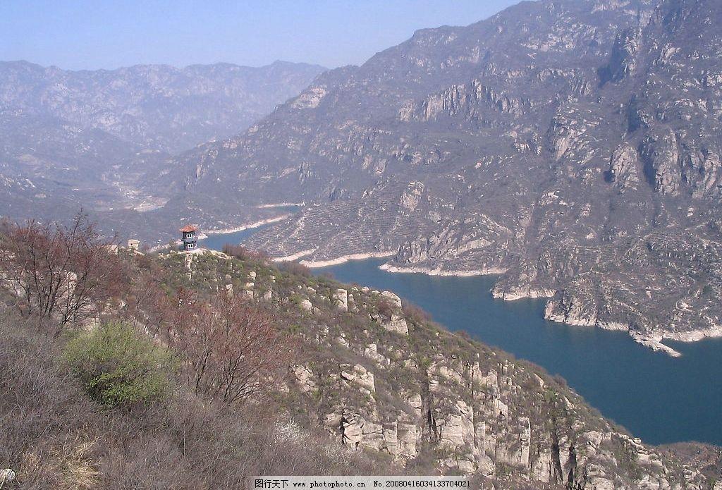 青龙峡风光图片,湖与山 旅游摄影 青龙峡风景 摄影-图