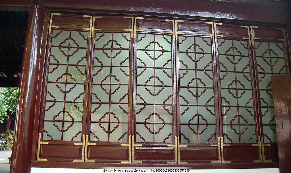 古代窗户 窗棂 古代 木质 窗 旅游摄影 国内旅游 摄影图库 300 jpg