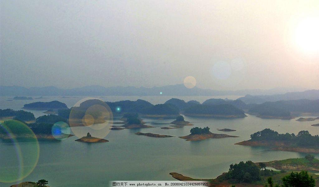 千岛风光图片