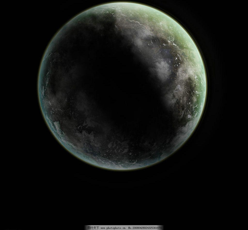 黑暗中的地球 地球 自然景观 其他 设计图库 320 jpg