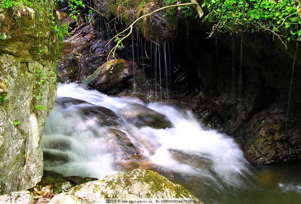 溪流 小溪 溪水 流水图片 自然风景 自然景观 山水风景 清清溪水 摄影