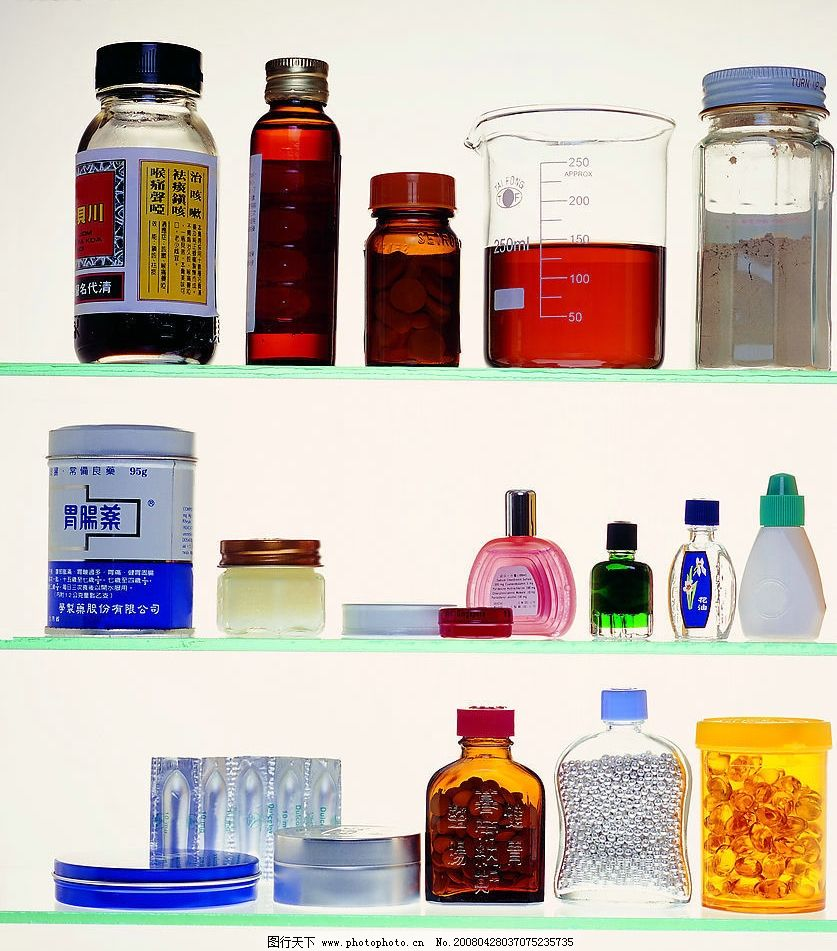 西药 药 瓶子 生活百科 生活素材 摄影图库 72 jpg