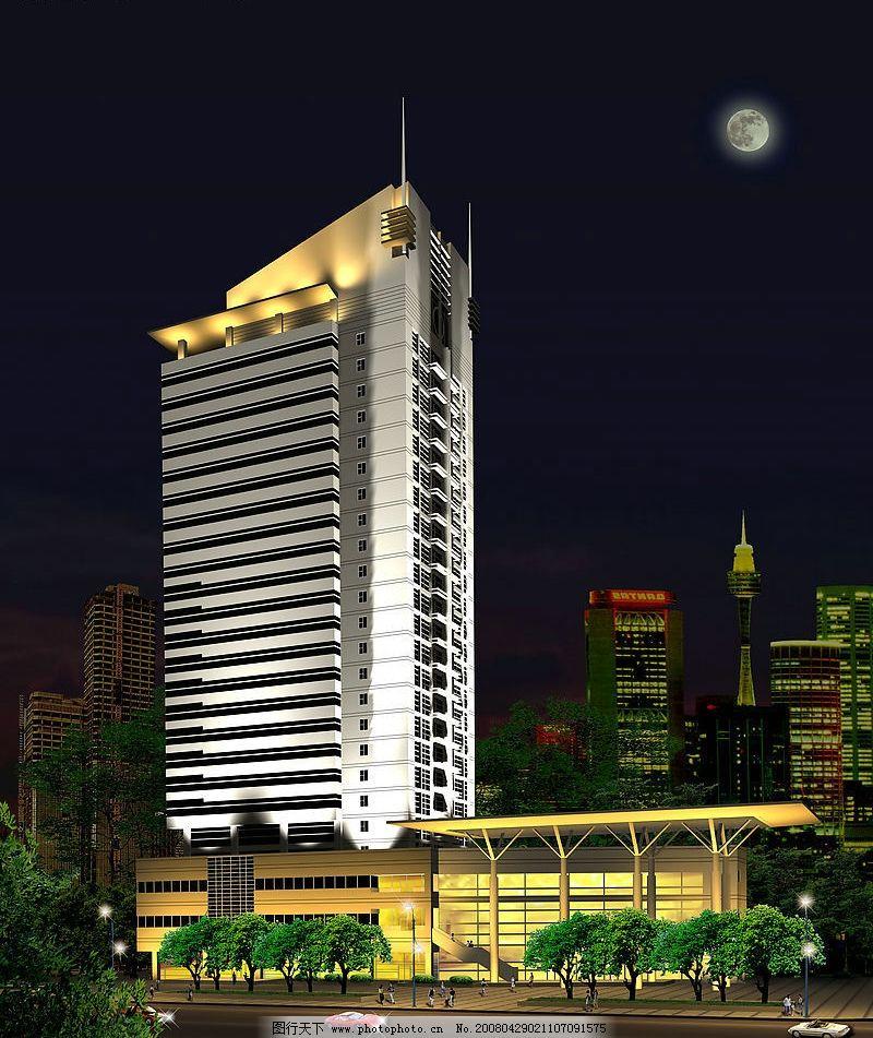 安阳大厦效果图 3d设计 3d作品 设计图库 72 jpg