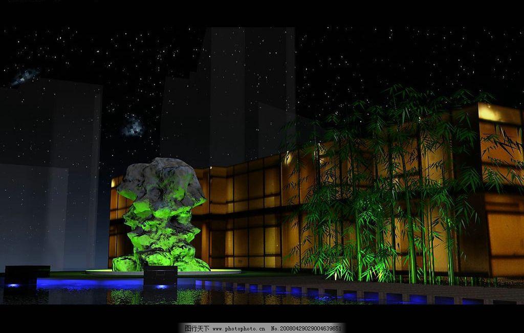 环境设施设计 入口处雕塑 地灯 绿化 其他设计 住宅小区环境设施设计