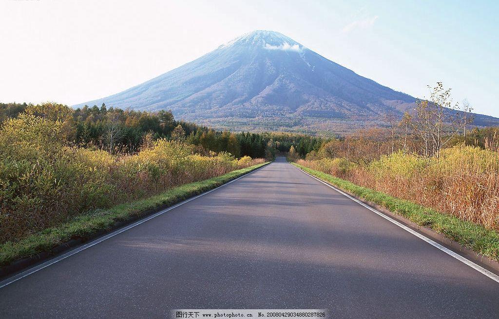 公路图 公路 自然景观 自然风景 高清道路 摄影图库 350 jpg