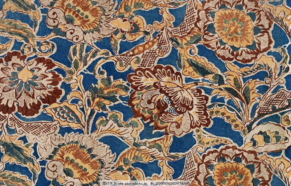 传统图案花纹布艺图案