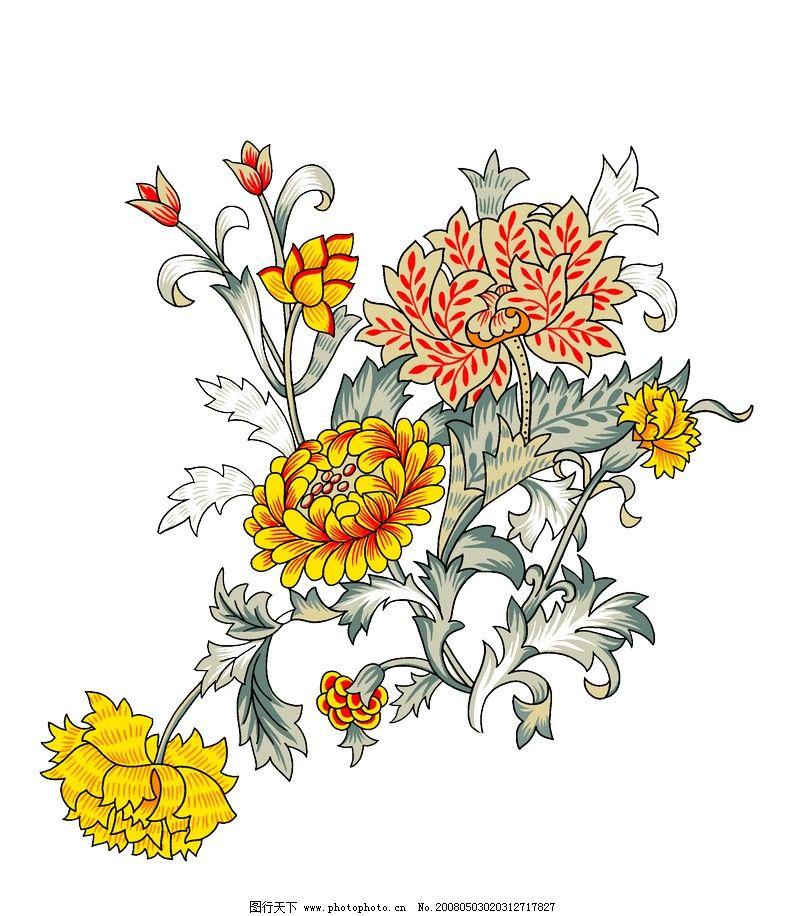 分层花纹 花纹应用