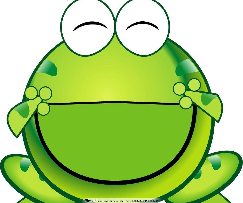 绿豆蛙 青蛙 矢量图库