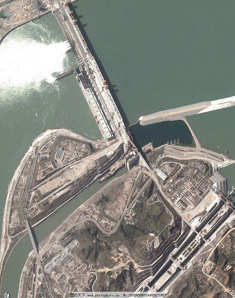 三峡大坝高清俯瞰图片