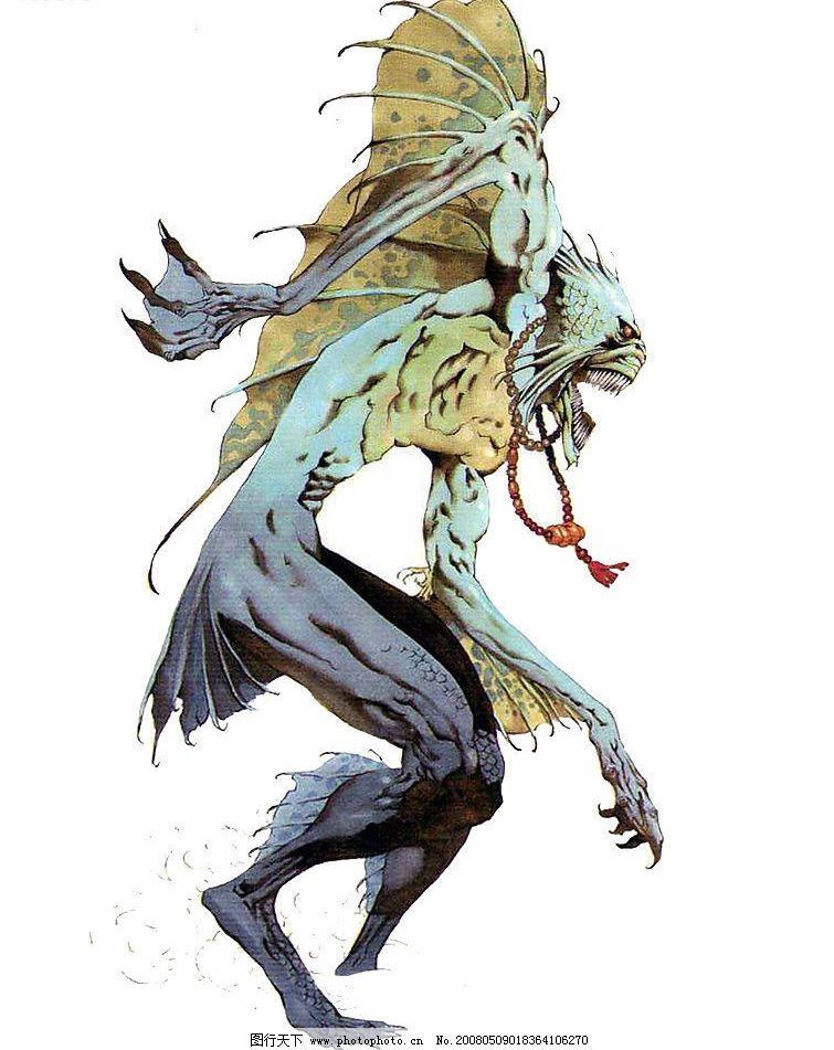 怪物 动漫动画 动漫人物 设计图库 150 jpg