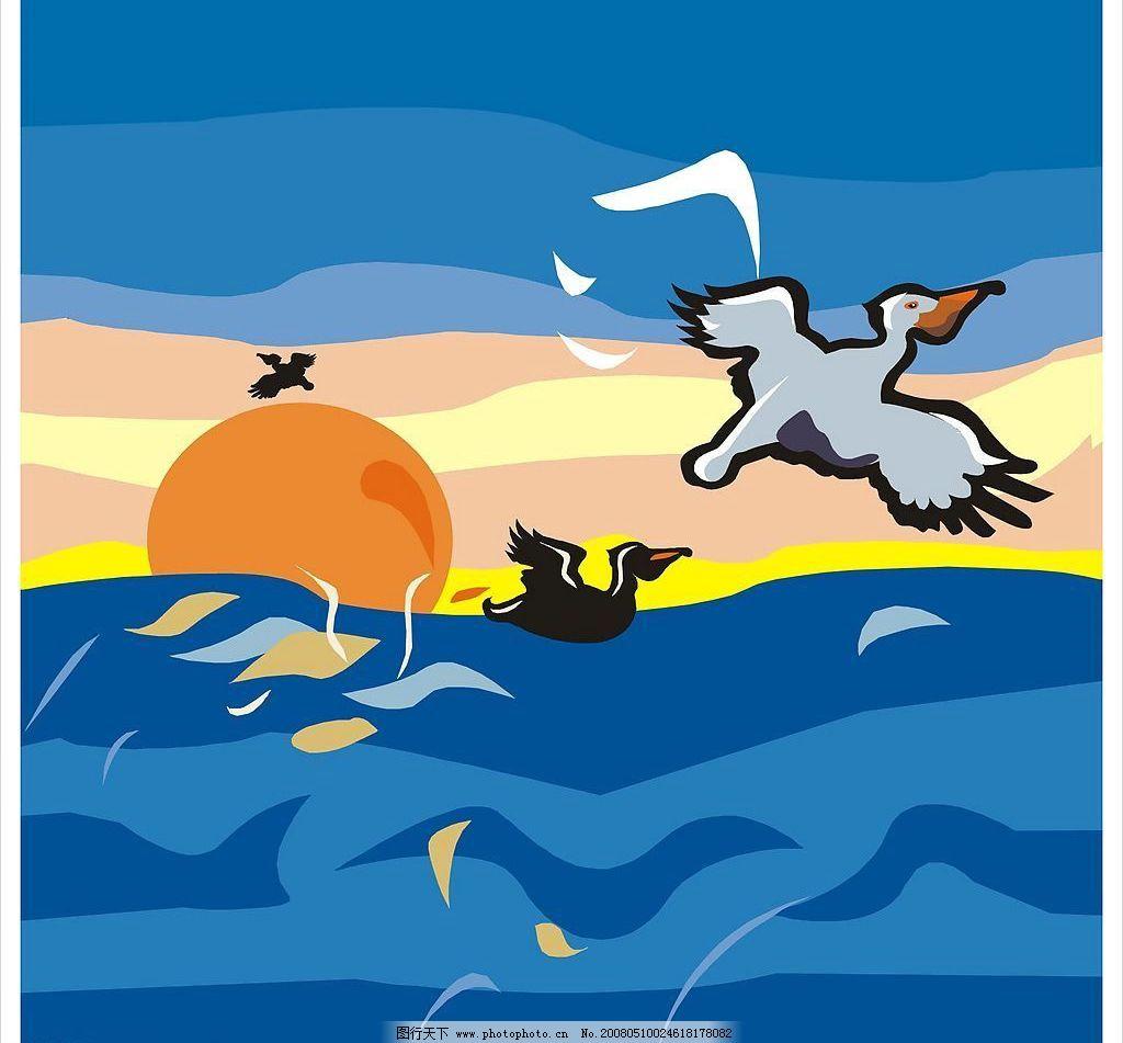 日出 天空 海报 招贴 宣传页 宣传册 画册 艺术设计 广告设计 招贴