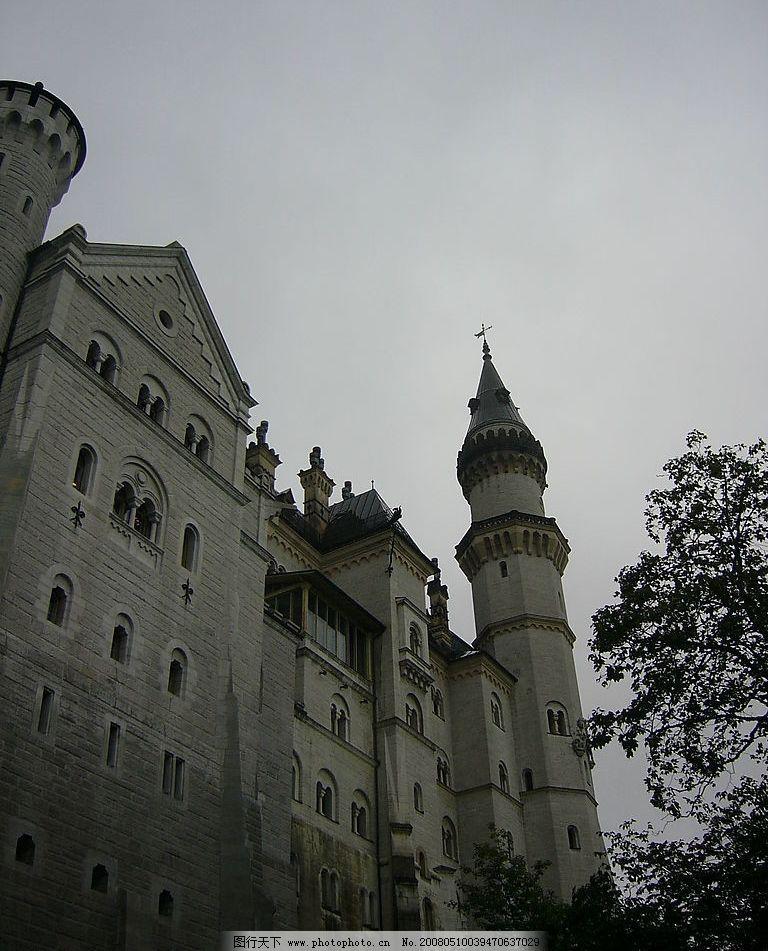 欧式建筑 欧式古堡 石建筑 石雕 房屋 自然景观 建筑景观 世界建筑