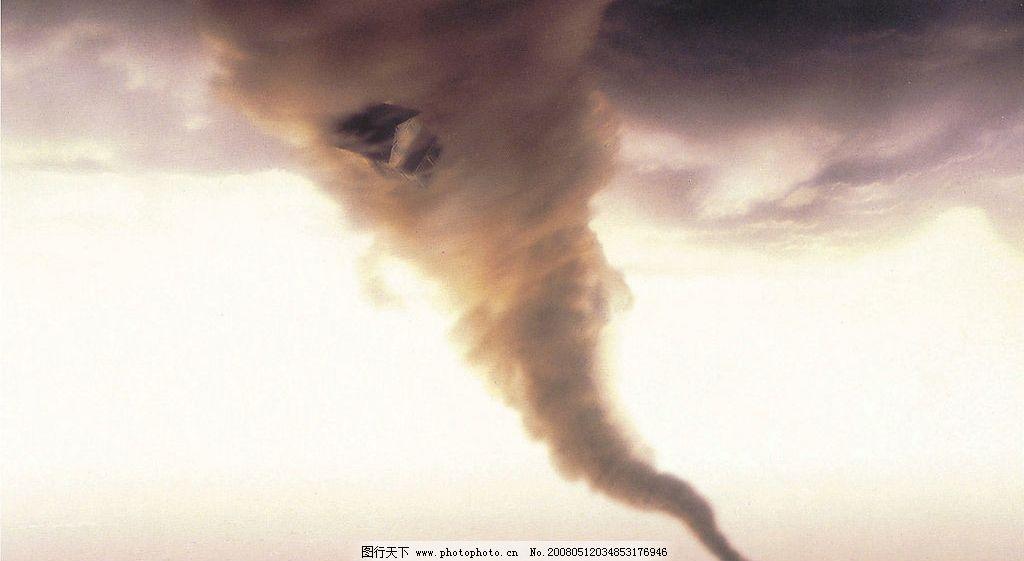 龙卷风 震撼 大自然 毁灭 无情 自然景观 自然风景 美丽自然 摄影图库
