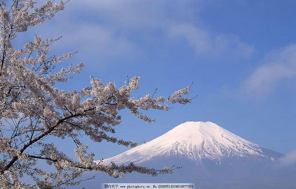 富士山风景图片