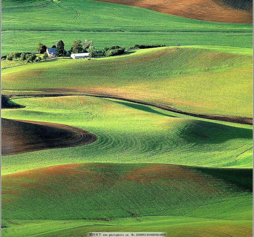 山丘 绿色 丘陵 自然景观 自然风景 摄影图库 72 jpg