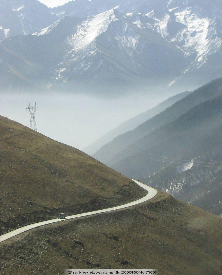 生命线 汶川 小金 川藏公路 自然景观 山水风景 摄影图库 180 jpg