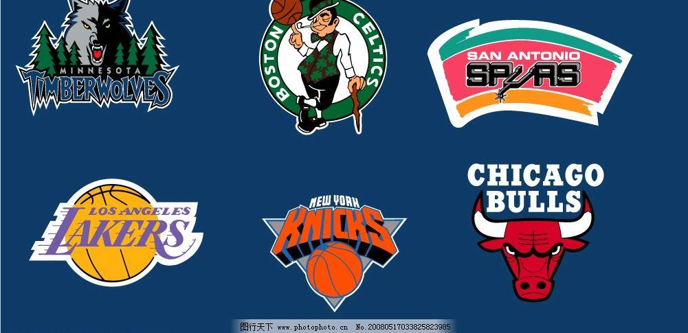 nba球隊標志圖片