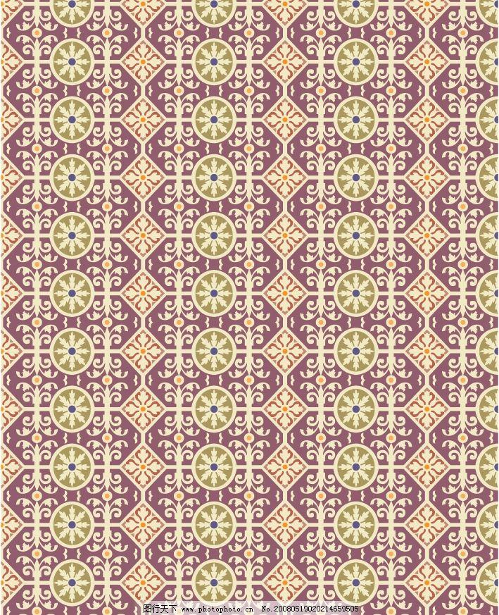 几何图案四方连续图片