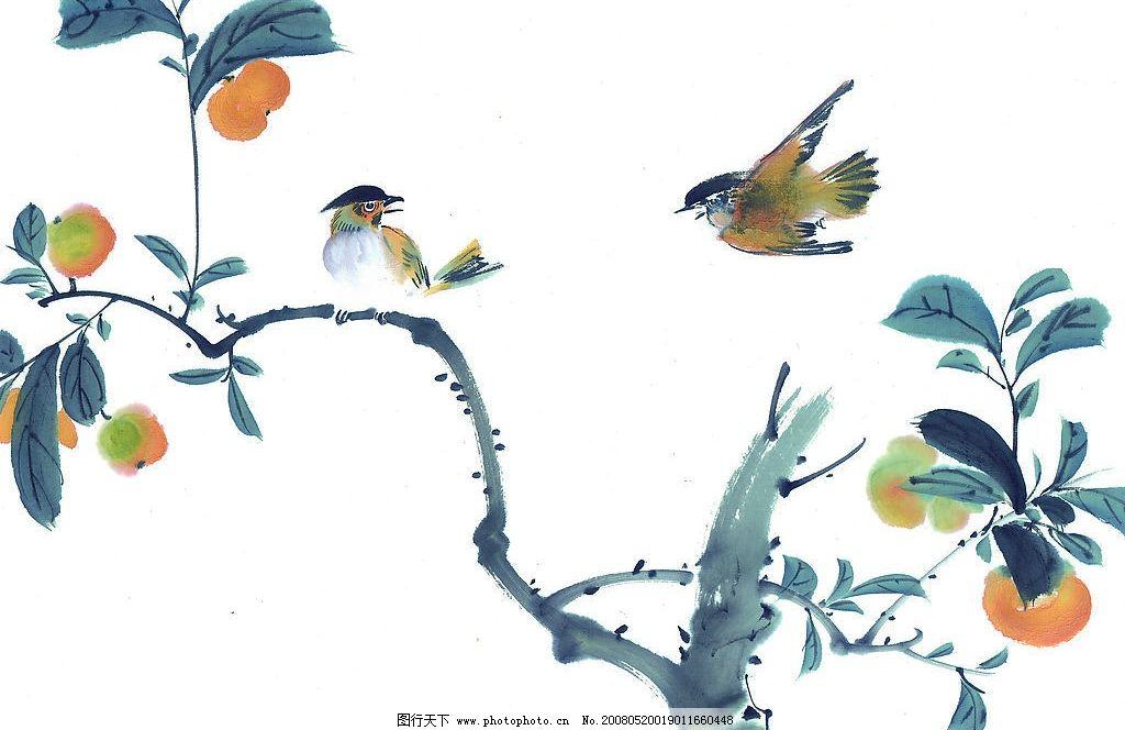 中国国画 花鸟 动物 水墨画 中国画 绘画 艺术 文化艺术 绘画书法