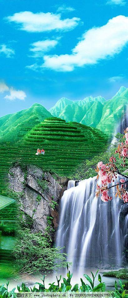 闽南安溪茶山 铁观音 安溪 茶山 泡茶 闽南 自然景观 自然风景 摄影
