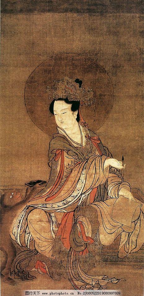 古代美女 古画女人 文化艺术 绘画书法 人物名画 设计图库 72 jpg