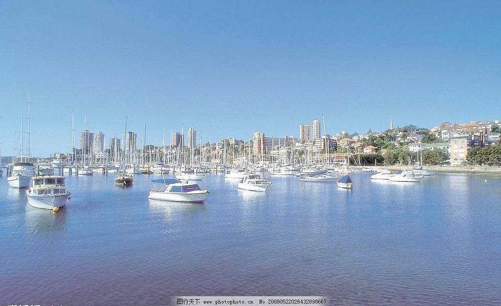 澳洲悉尼风景高清图 国外旅游 海港 旅游摄影 摄影图库 澳洲悉尼风景