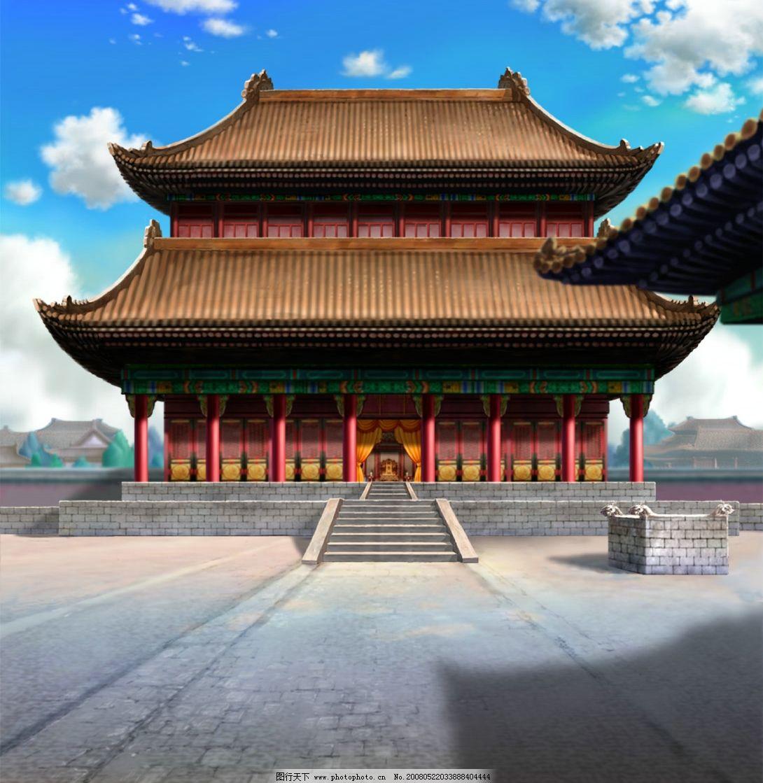 卡通场景---宫殿图片