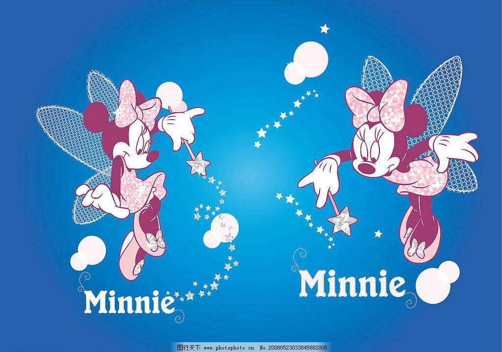 天使米奇老鼠 矢量设计 ai cs3 矢量图库 卡通动漫设计 其他矢量 矢量