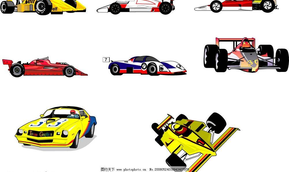 赛车运动 赛车 运动 车 方程式 汽车 文化艺术 体育运动 矢量图库