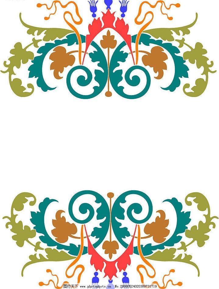 古典花纹 国外 经典 装饰