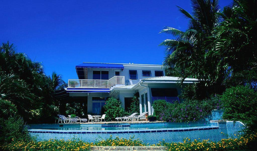 泳池别墅 别墅 房产 房地产 住宅 小区 园林 花园        楼盘 绿化