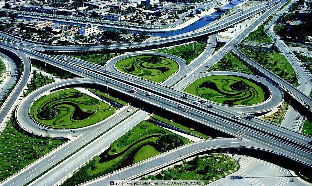 菜户立交桥 莱户 北京立交桥 公路 城市 交通 建筑园林 建筑摄影
