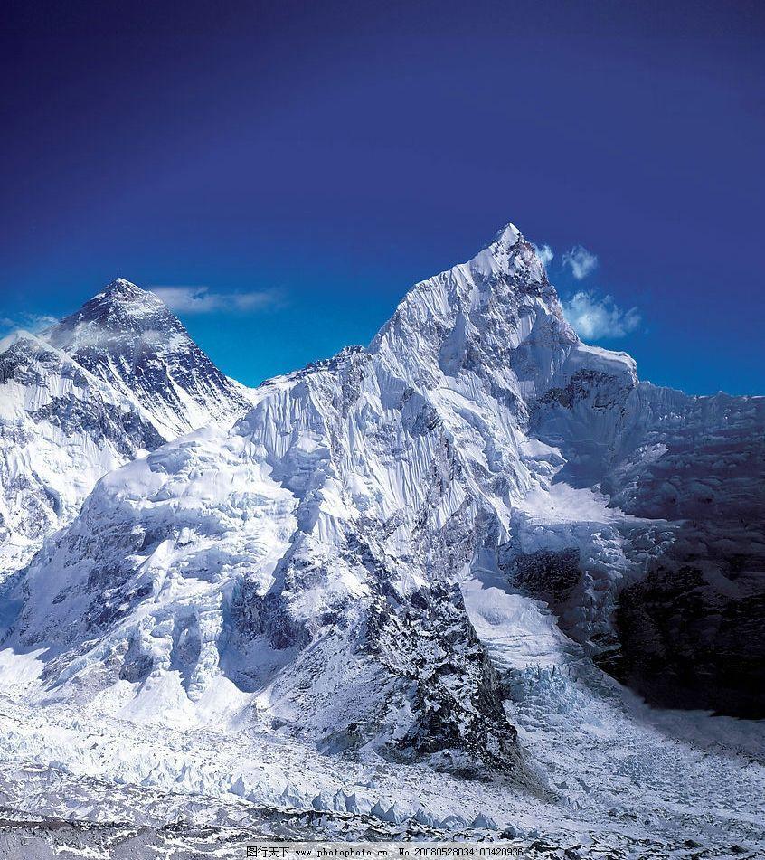 珠峰竖版图片_自然风景_旅游摄影_图行天下图库