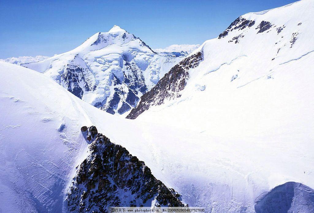 雪山风光 风景 摄影图库