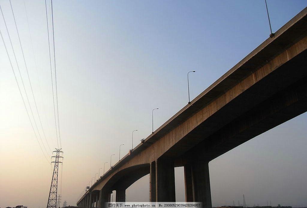 暮色之桥 建筑摄影广角数码高清jpg 建筑园林 建筑摄影 摄影图库 72